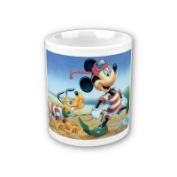 Šalica - Micky i Pluto na moru