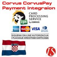 CorvusPay modul za integraciju naplate za OpenCart 1.5.1.x