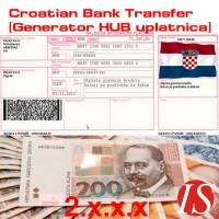 Hrvatska bankovna transakcija [Generator uplatnica - HUB] za 2.x.x.x