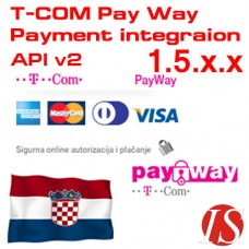T-COM Pay Way API v2 Payment Integration for OpenCart 1.5.x.x