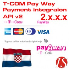 T-COM Pay Way API v2 Payment Integration for OpenCart 2.x.x.x
