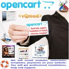 OpenCart - usluga instalacije modula
